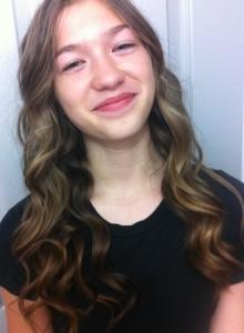 Katerina in curls