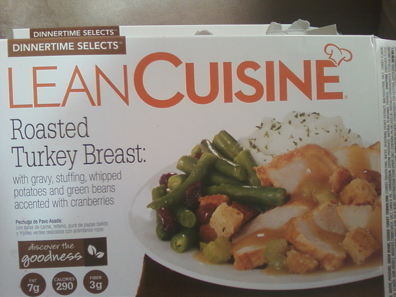 Lean cuisine meal review the life of a home mom for Are lean cuisine meals healthy