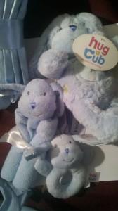 Hug a cub Blue Puppy