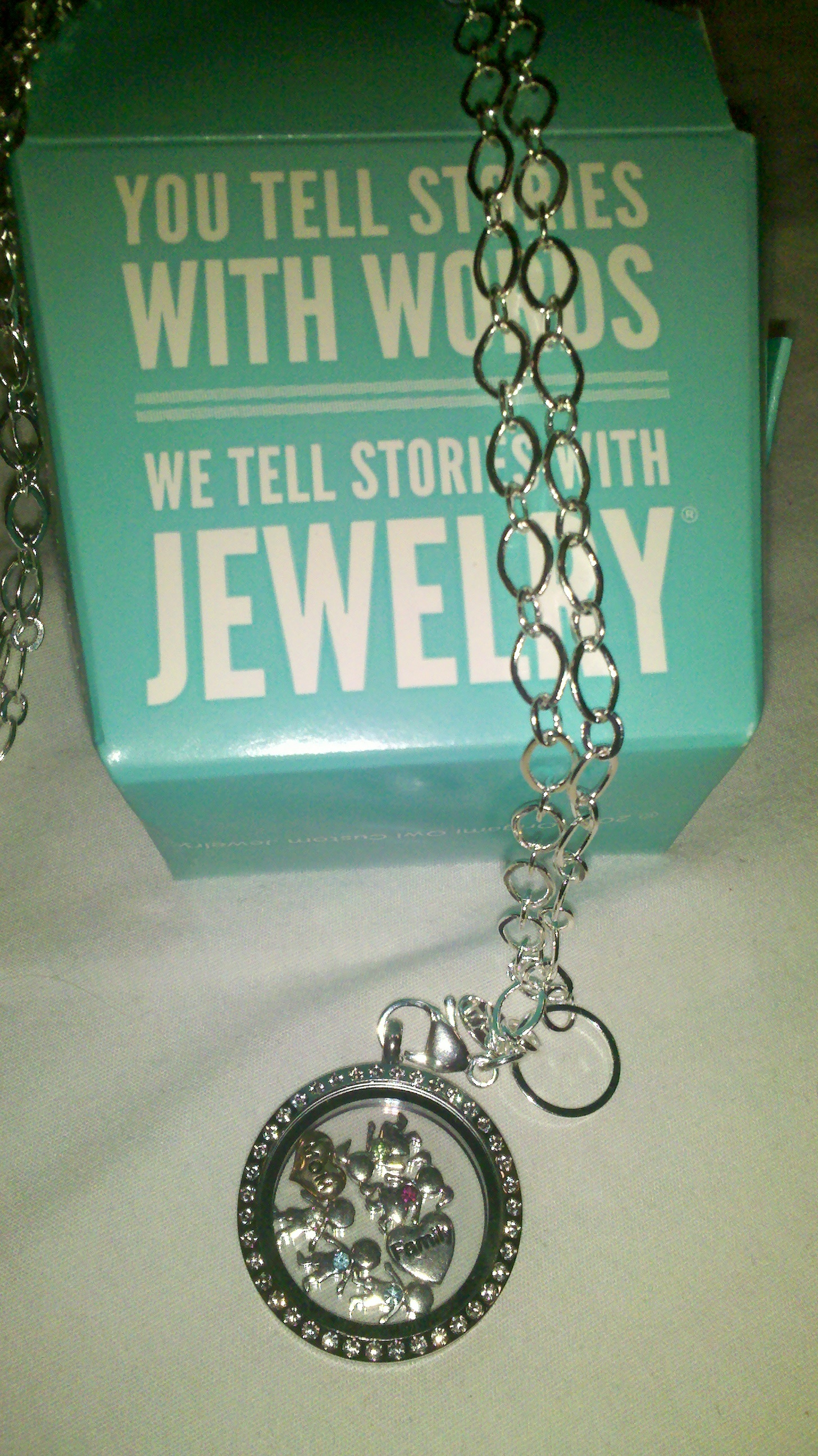 Locket Jewellery Charm bracelet Origami Owl Necklace, diamond ... | 2592x1456