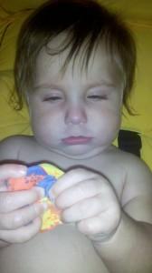 He was sick