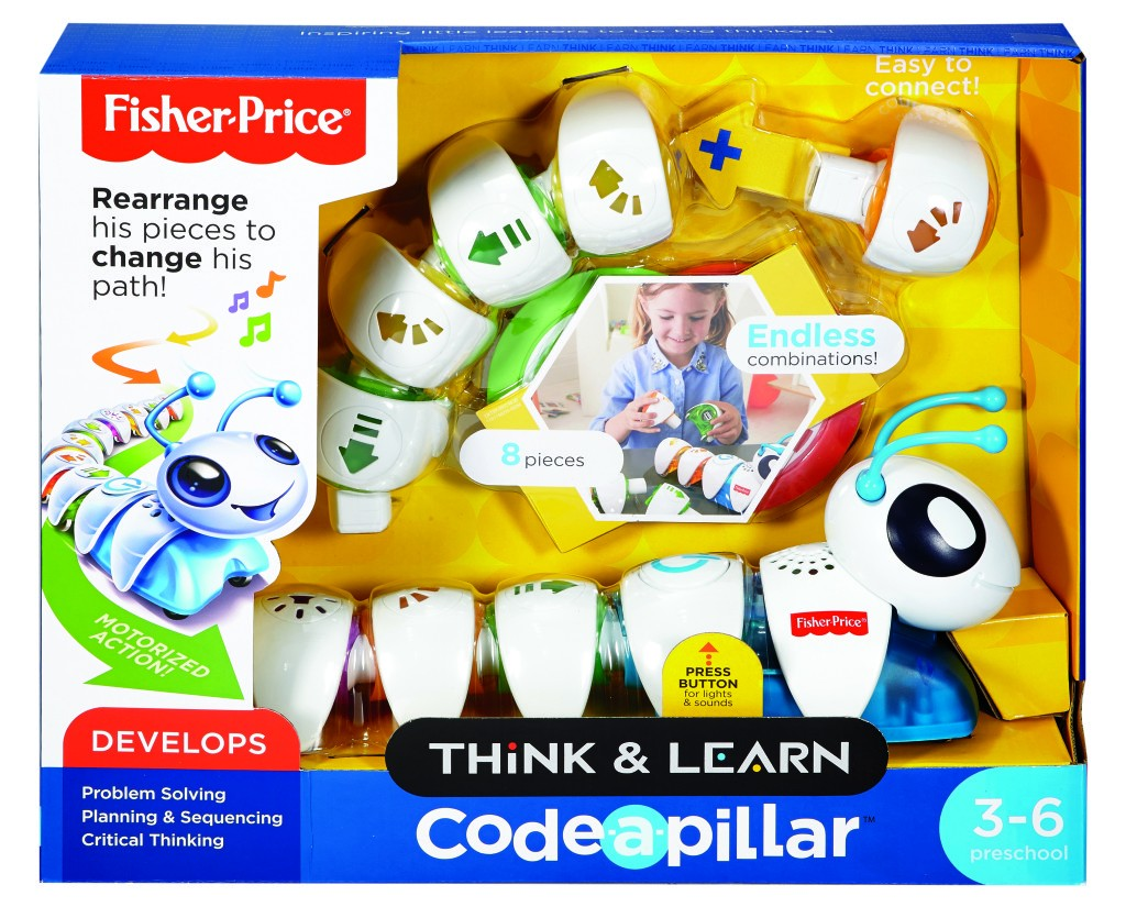 Think & Learn with Code-a-pillar