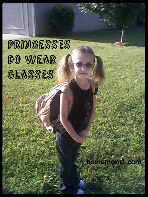 princesses do wear glasses