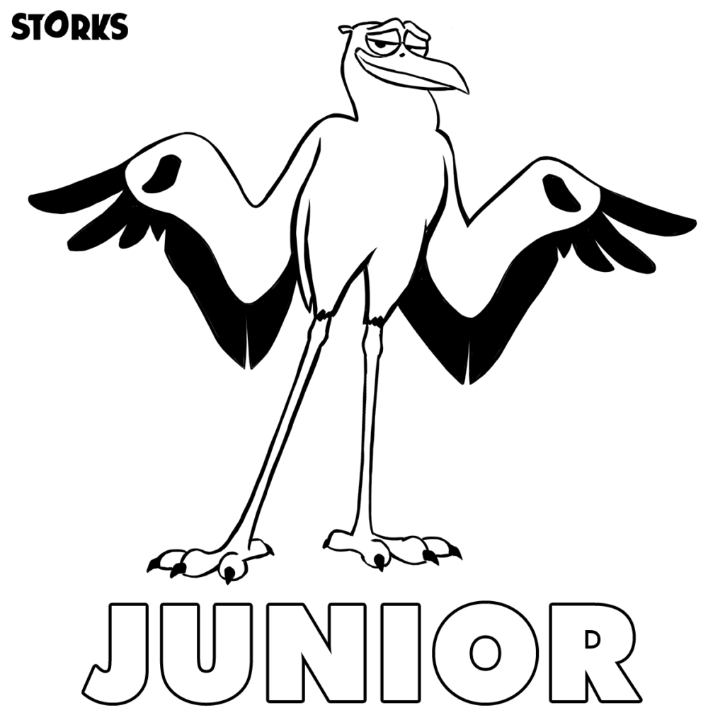Storks-Coloring