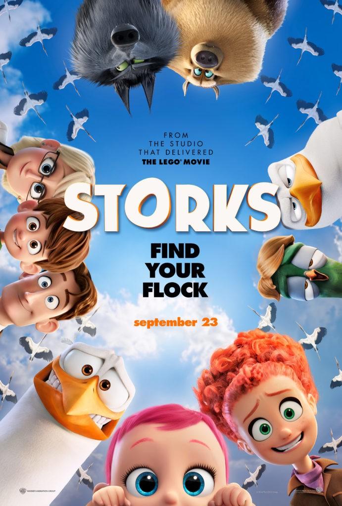 Storks New Poster