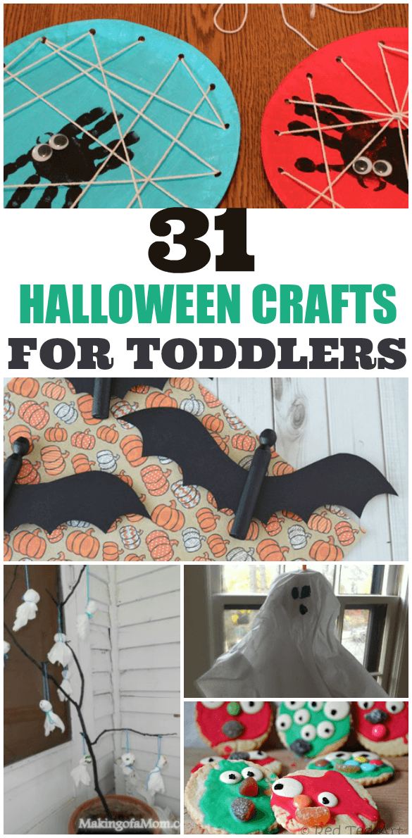 31 halloween crafts toddler