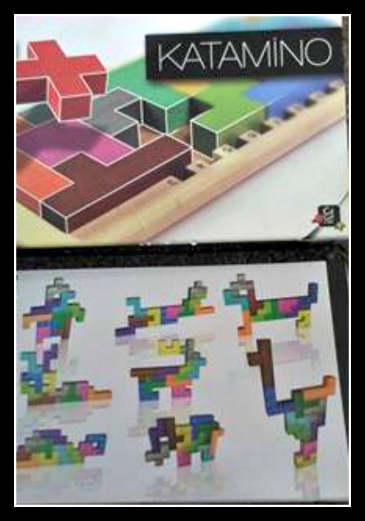 Katamino puzzle game