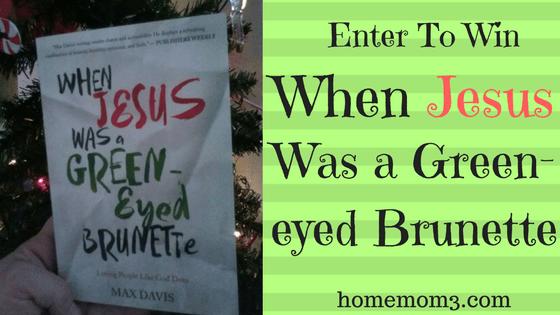 Jesus Green-eyed brunette