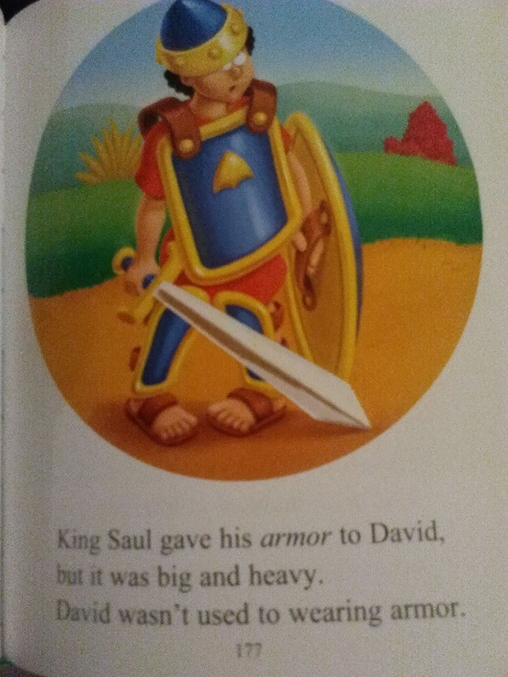 Beginner's Bible David's Armor