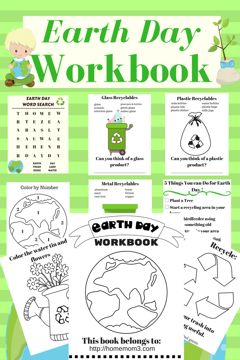 Earth Day Workbook Download