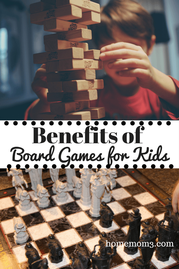 Benefits of Board Games with Kids
